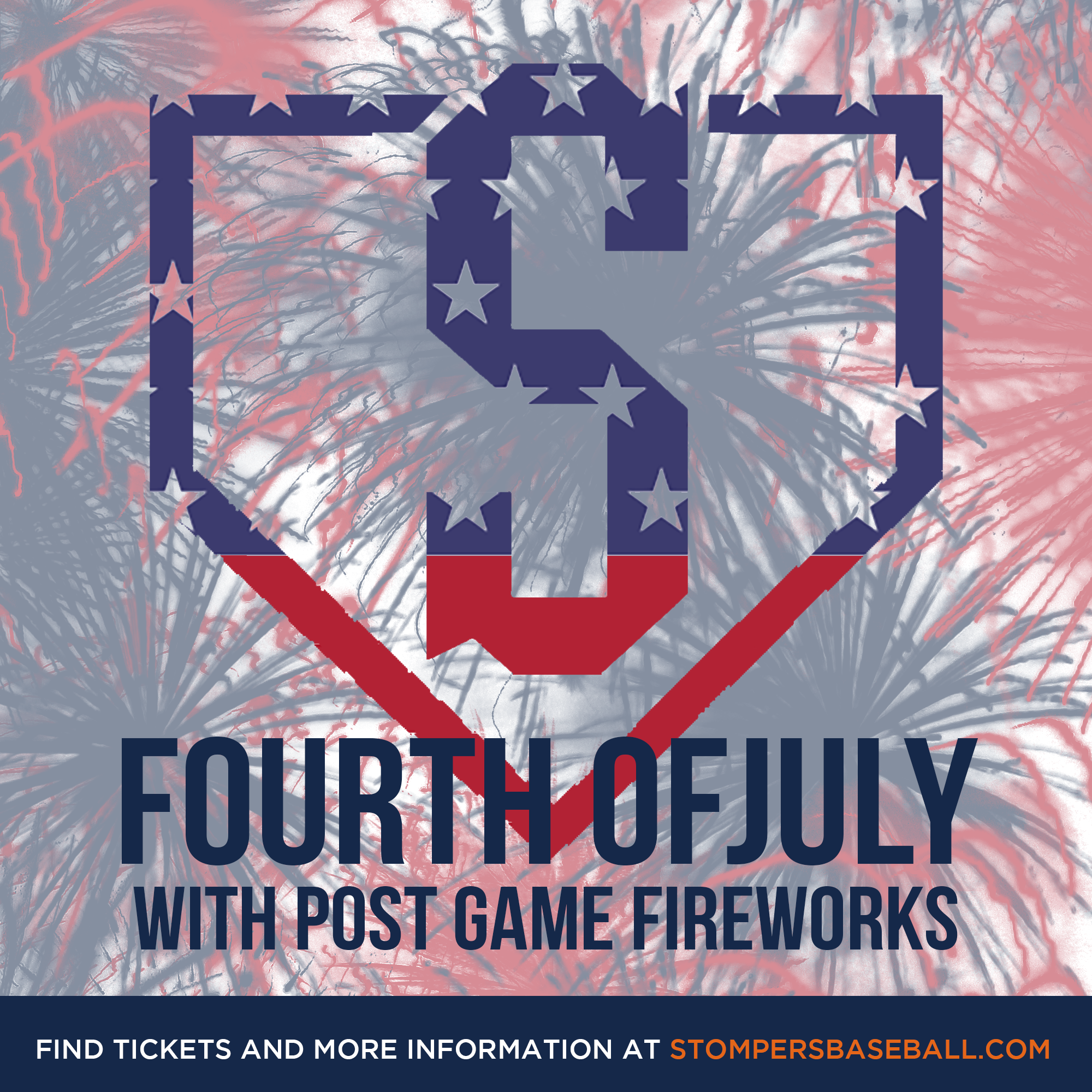 July 4: Fourth of July - Bring your own blanket and patriotic pride for the Fourth of July at Palooza Park Arnold field! After the game stay a little longer and watch the fireworks with a perfect view!