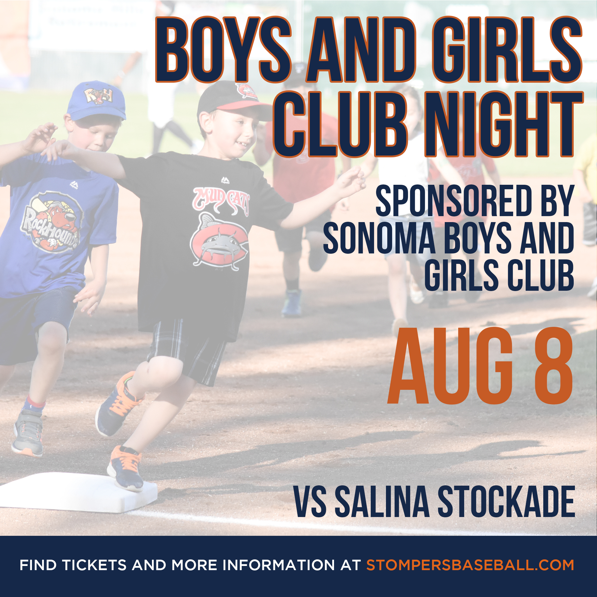 Aug 8: Boys and Girls Club Night - It's Boy and Girls Club Night at Palooza Parka at Arnold Field presented by the Sonoma Boys and Girls Club!
