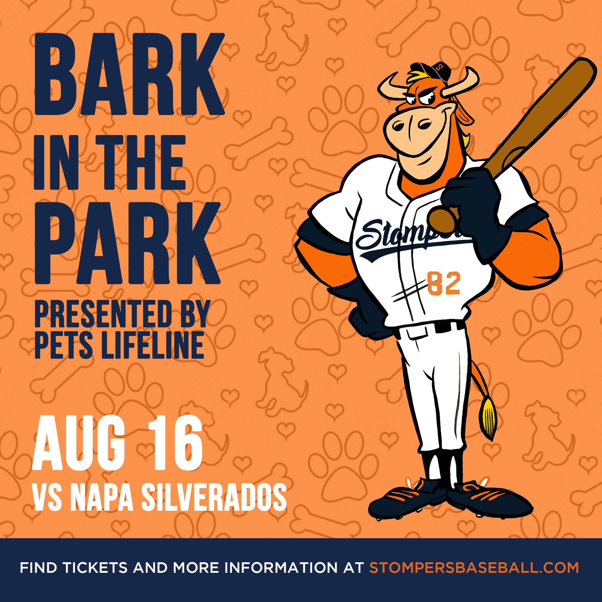 Aug 16: Bark in the Park - Its Bark in the Park night at Palooza Park at Arnold Field! Come out with your furry best friends and enjoy a ballgame!