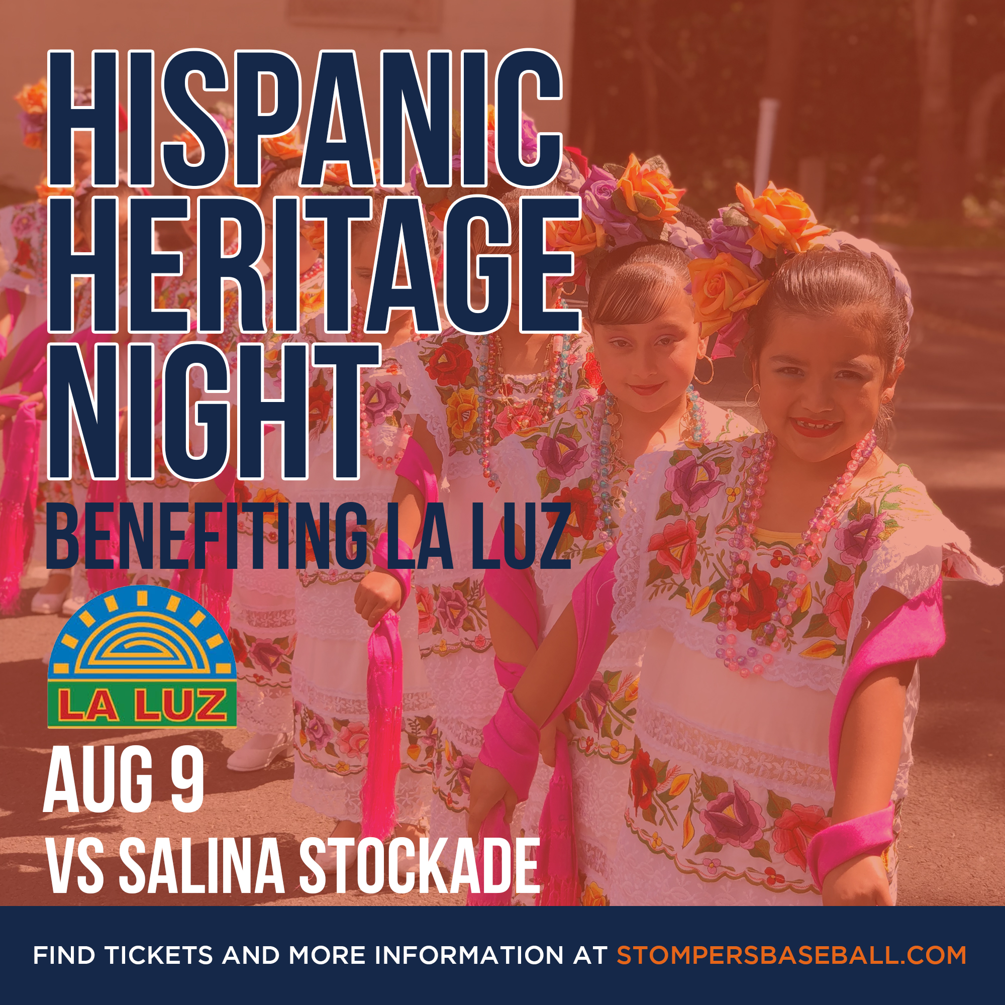 Aug 9: Hispanic Heritage Night - Come out to Palooza Park at Arnold Field for Hispanic Heritage Night and watch Baile Folklorico perform.