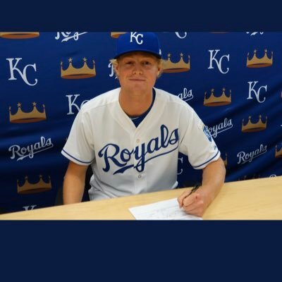 Pitcher Cole Watts signing with the Kansas City Royals