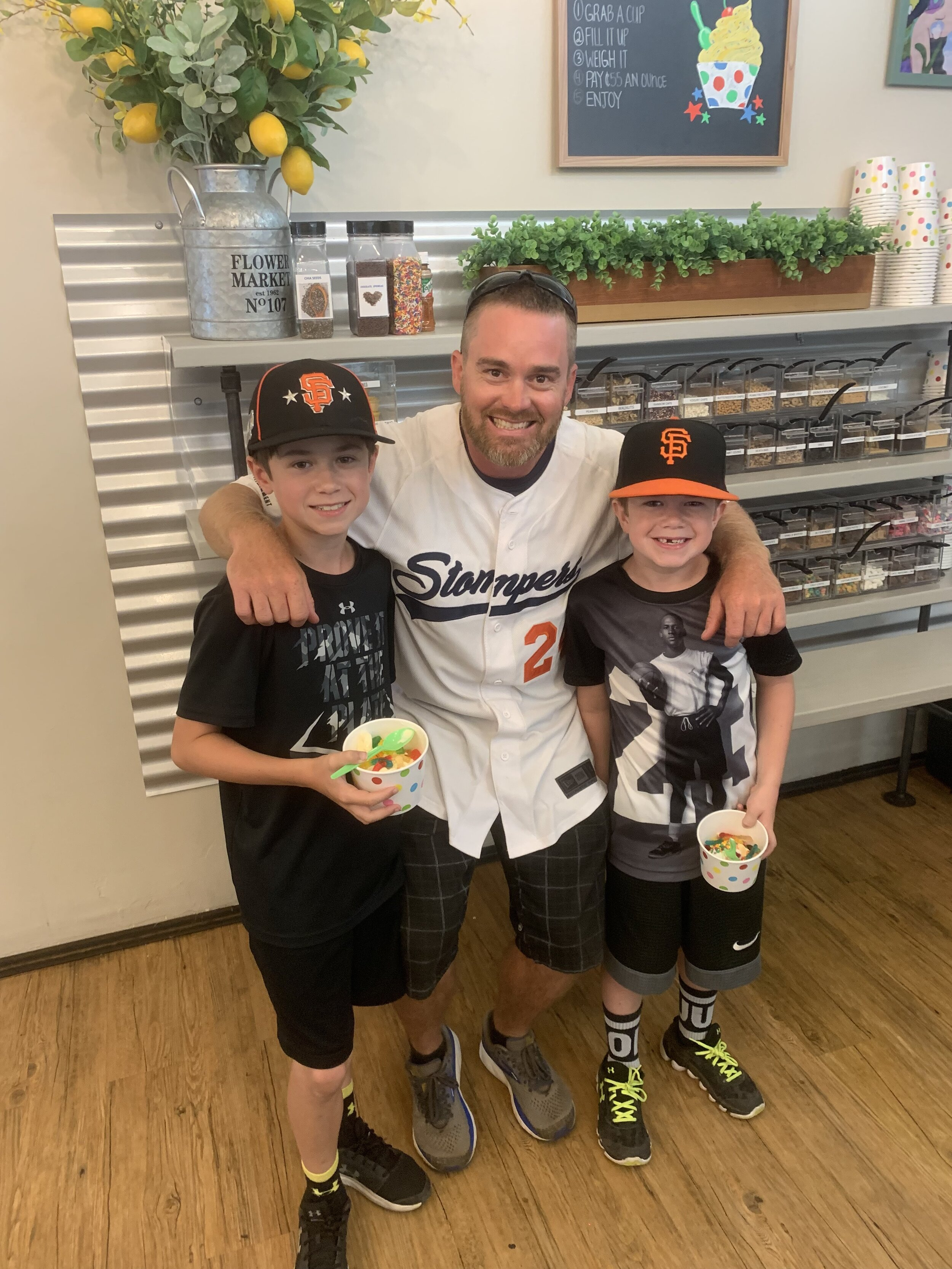 Manager Zack Pace posing with a few fans during a community event this past Summer.