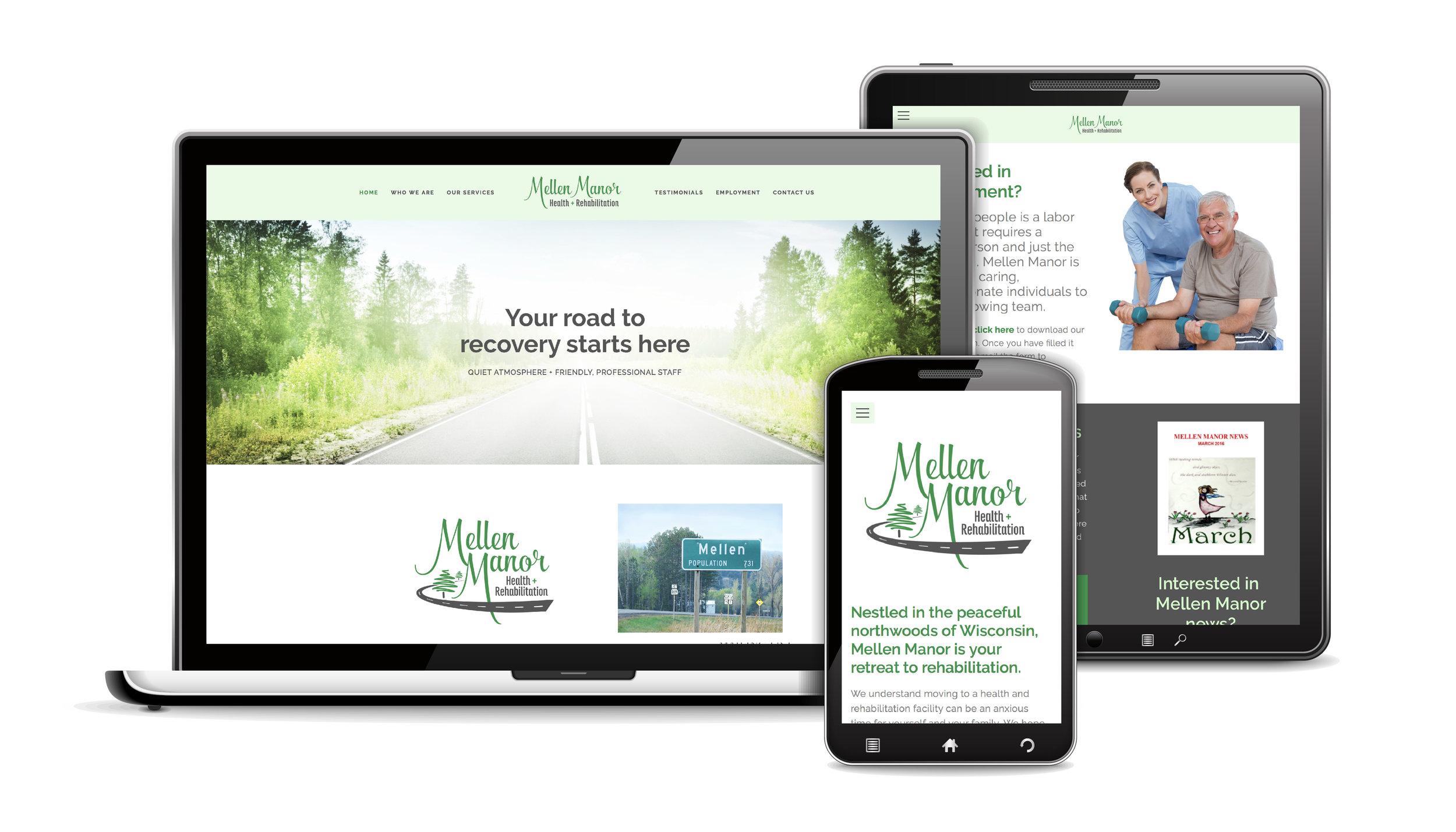 Web Design Mellen Manor