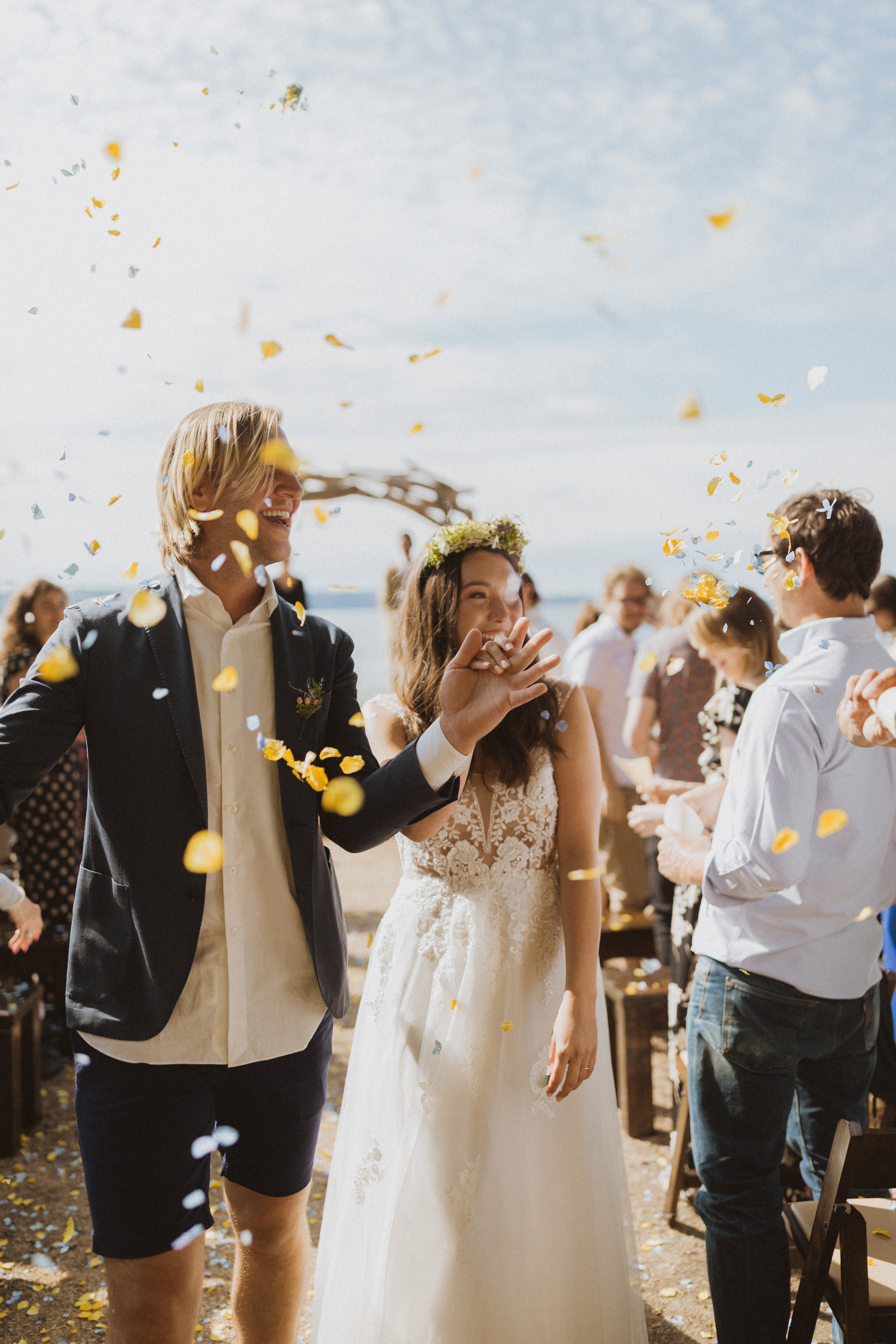 Weddings - Wedding day coverage up to 300 guests..