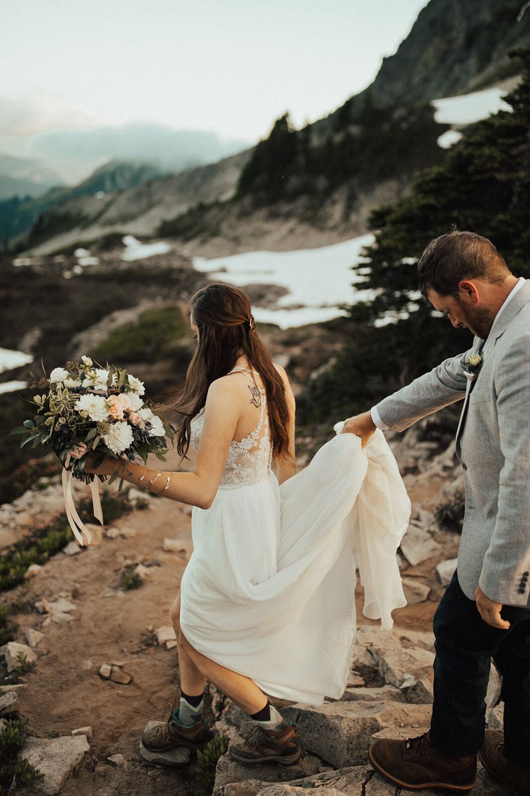 - We've looked at them (elopement photos) five times and can't stop! There are literally no words...- Melissa Hurley