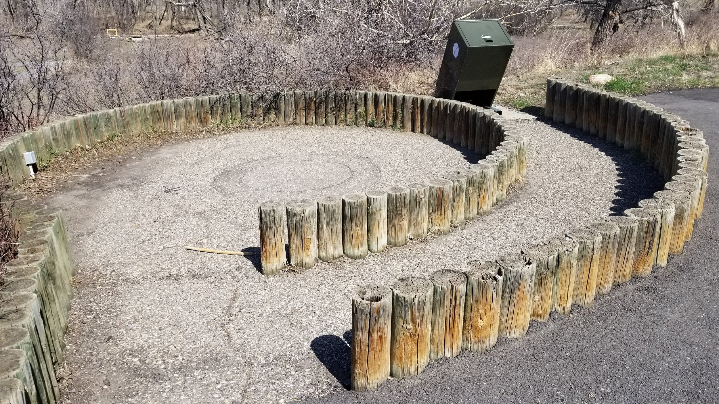Current Amphitheatre at Helen Schuler Nature Centre