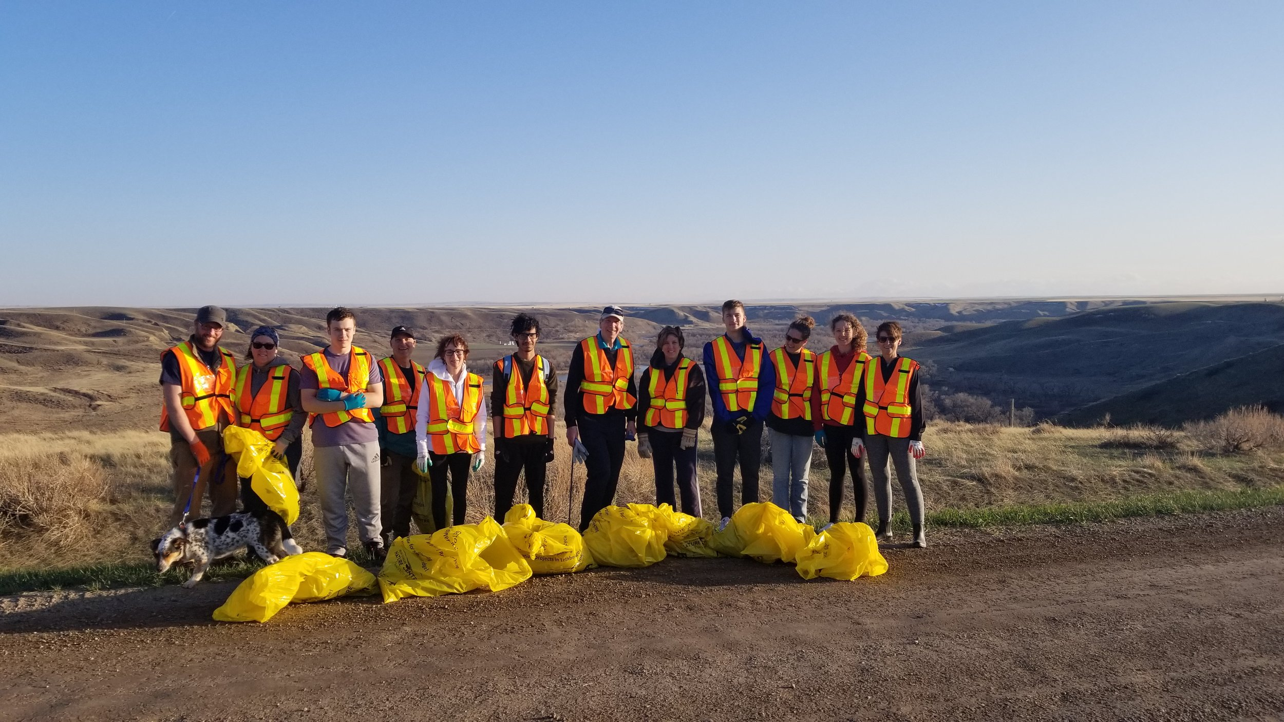 Friends of HSNC Society - Coulee Clean-Up at Cottonwood Park.jpg