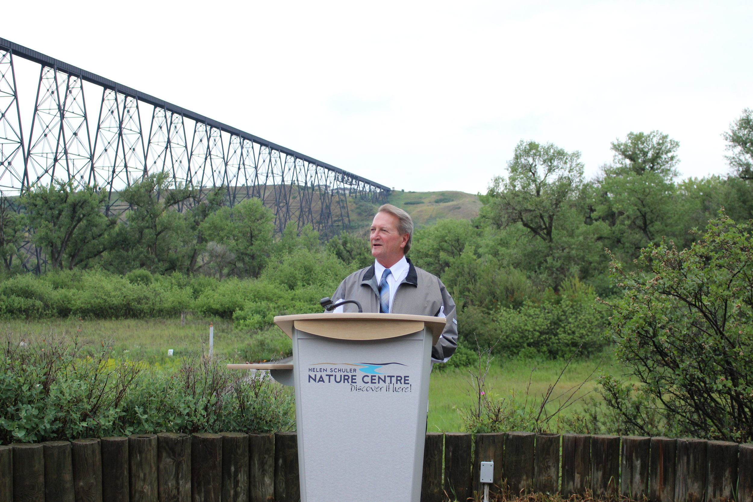 Jim Saunders, chairman of the Alberta Real Estate Foundation, shares why the Outdoor Classroom project is important for our community and region