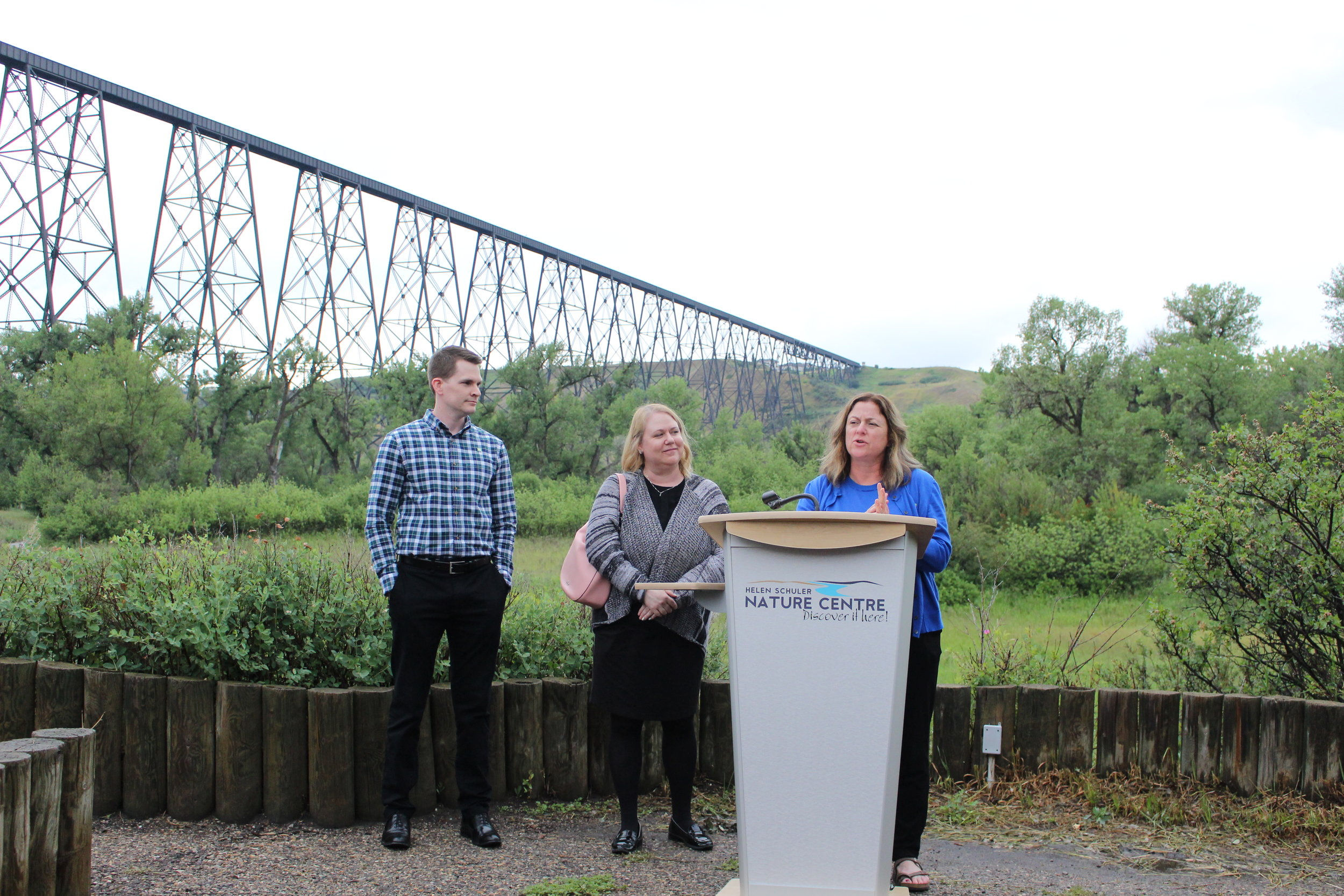 Candace Misouka and representatives of TD Friends of the Environment Foundation share why the Outdoor Classroom project is important to them