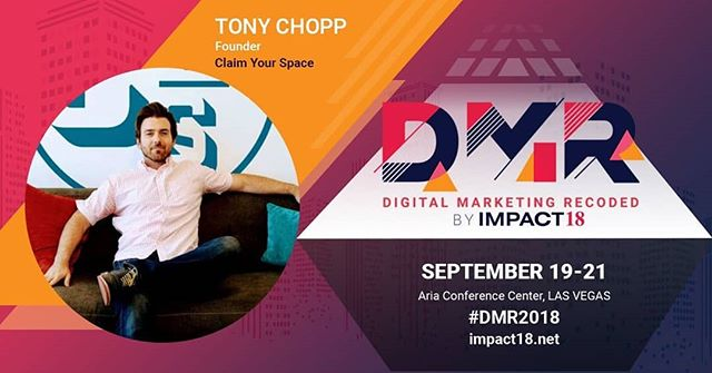 "Team CYS got an invite to speak at this year's ""Digital Marketing Recoded"" #DMR2018 conference in Vegas this month. Looking forward to showing off some of our recent #GoogleAds wins!"