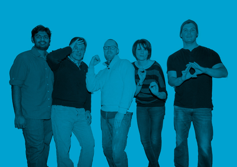 Core Team - Our origin story was about 'experience meets tech'. We were taking a lot of option trading experience, and, with an artificial intelligence approach and a modern user experience, stealing fire to democratize it.The 'About Page' team photo reinforced that idea, presenting a fun, approachable and radically differentiated experience. No suits to be found (at least not on the web).
