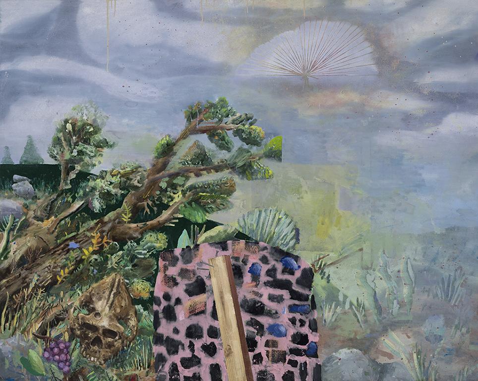 Rebutoir, oil on canvas, 48x60 inches, 2014.