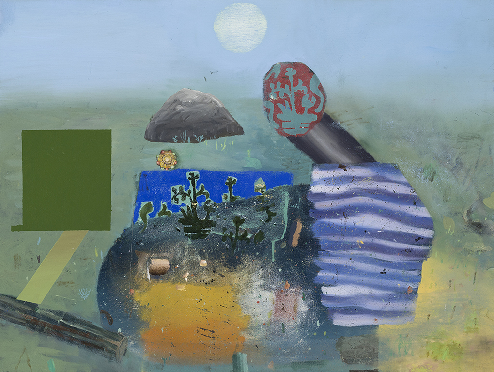 Paradox Garden,oil on canvas, 32x40 inches, 2014.