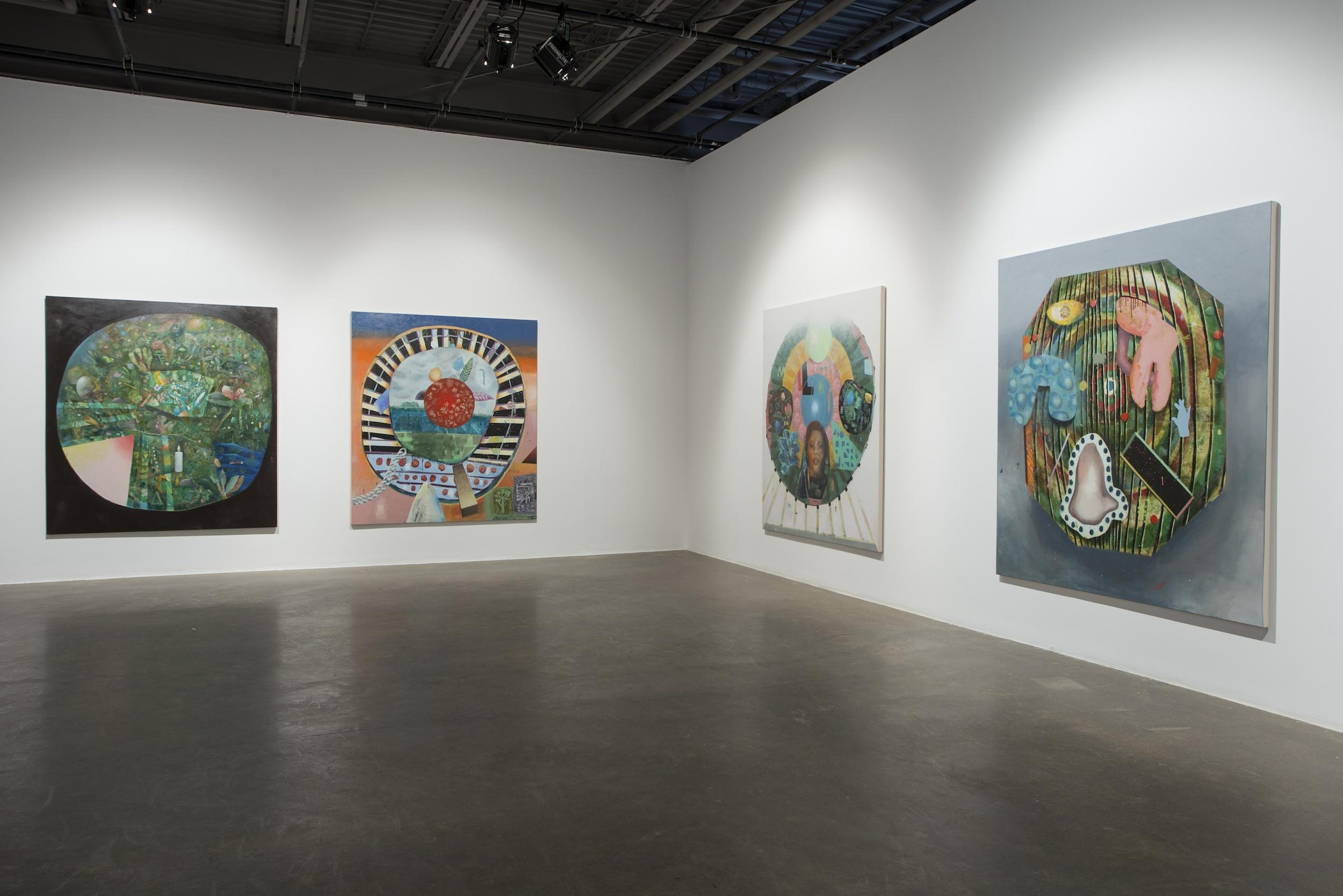 The Fans, Installation view, L'oeil de Poisson Gallery, Québec, 2014