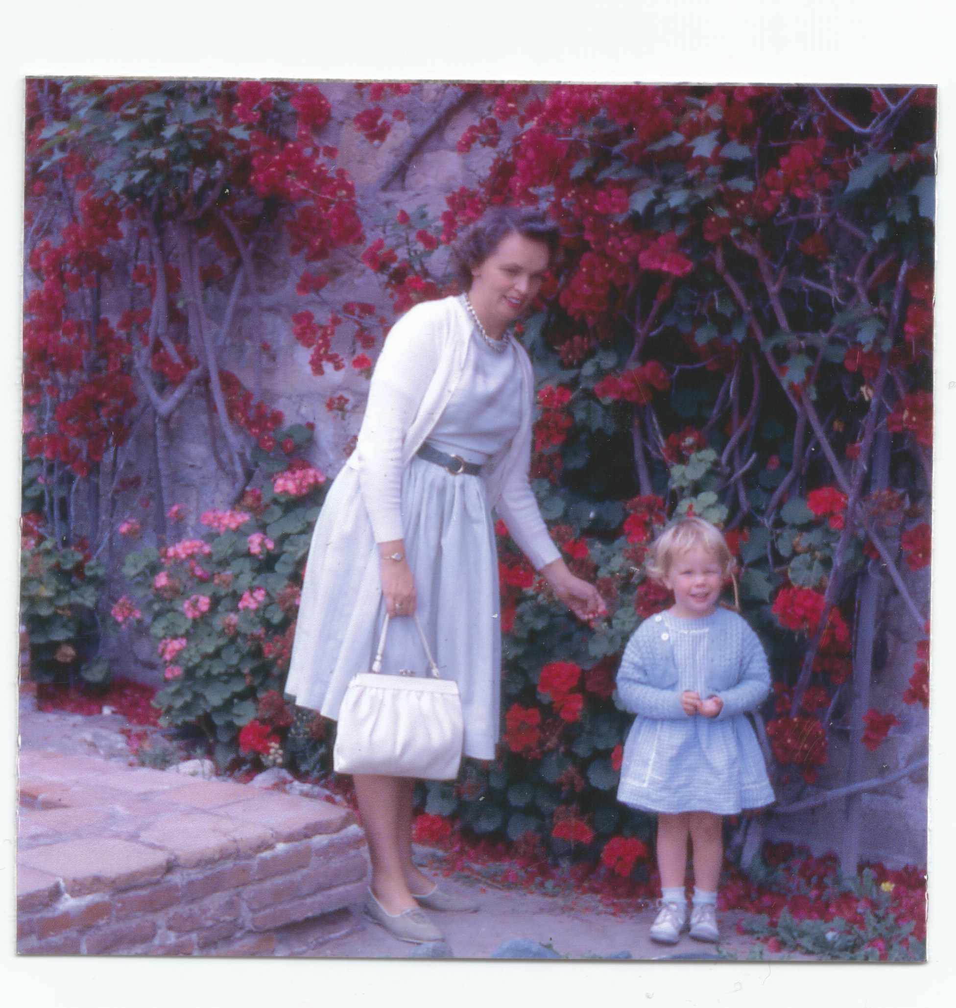 Southern CA, 1961 with my Mom
