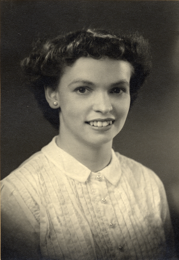 My mother, Audrey, age 17.