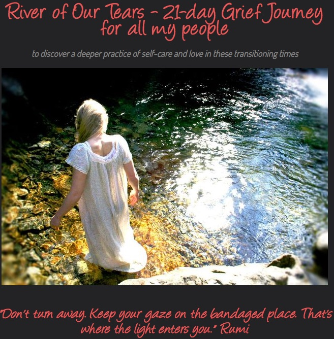 Anne collaborated with Sharon Ann Rose as a guest interviewee for her offering  River of Our Tears .