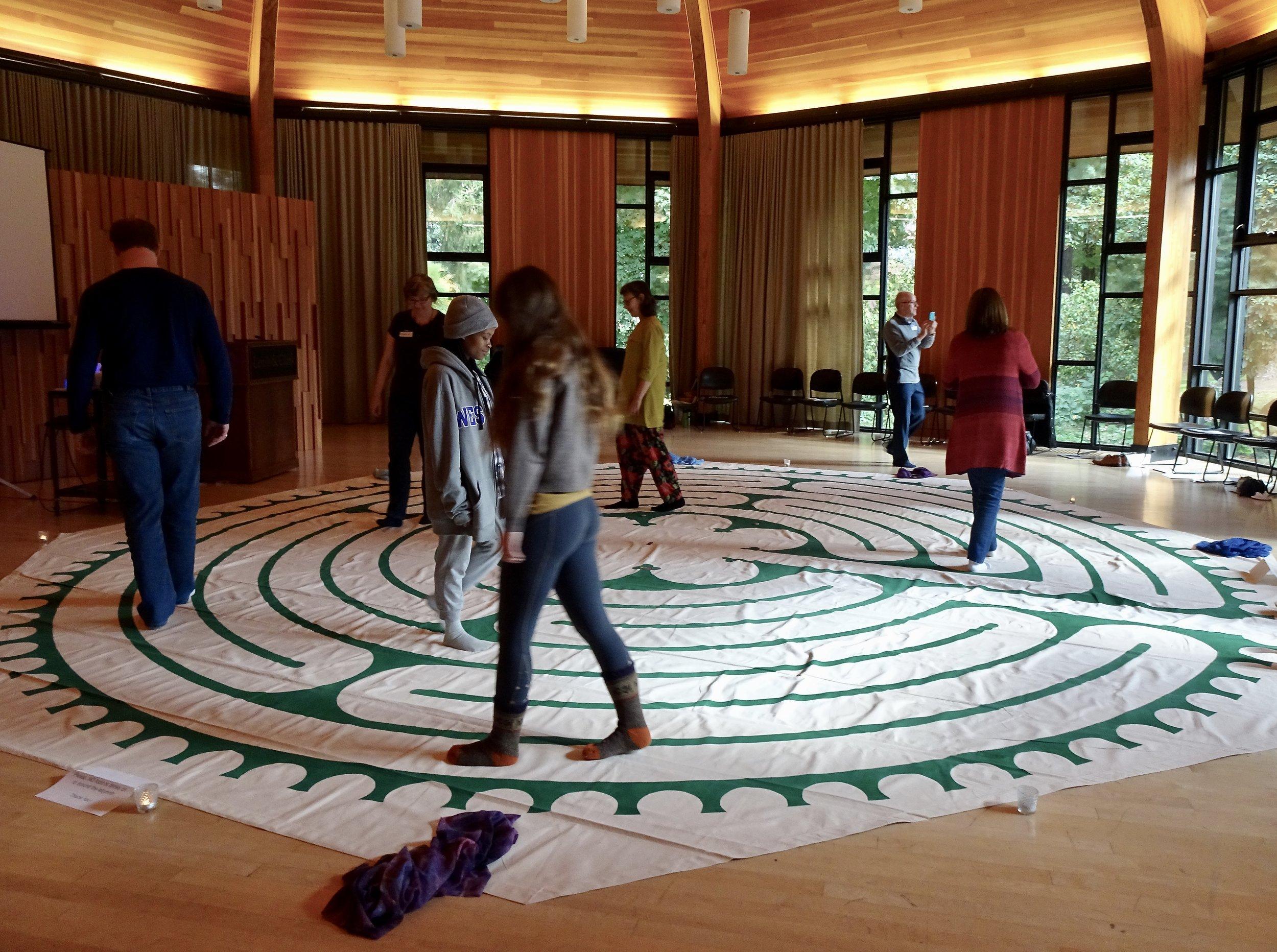 Lewis & Clark College experiential workshop.
