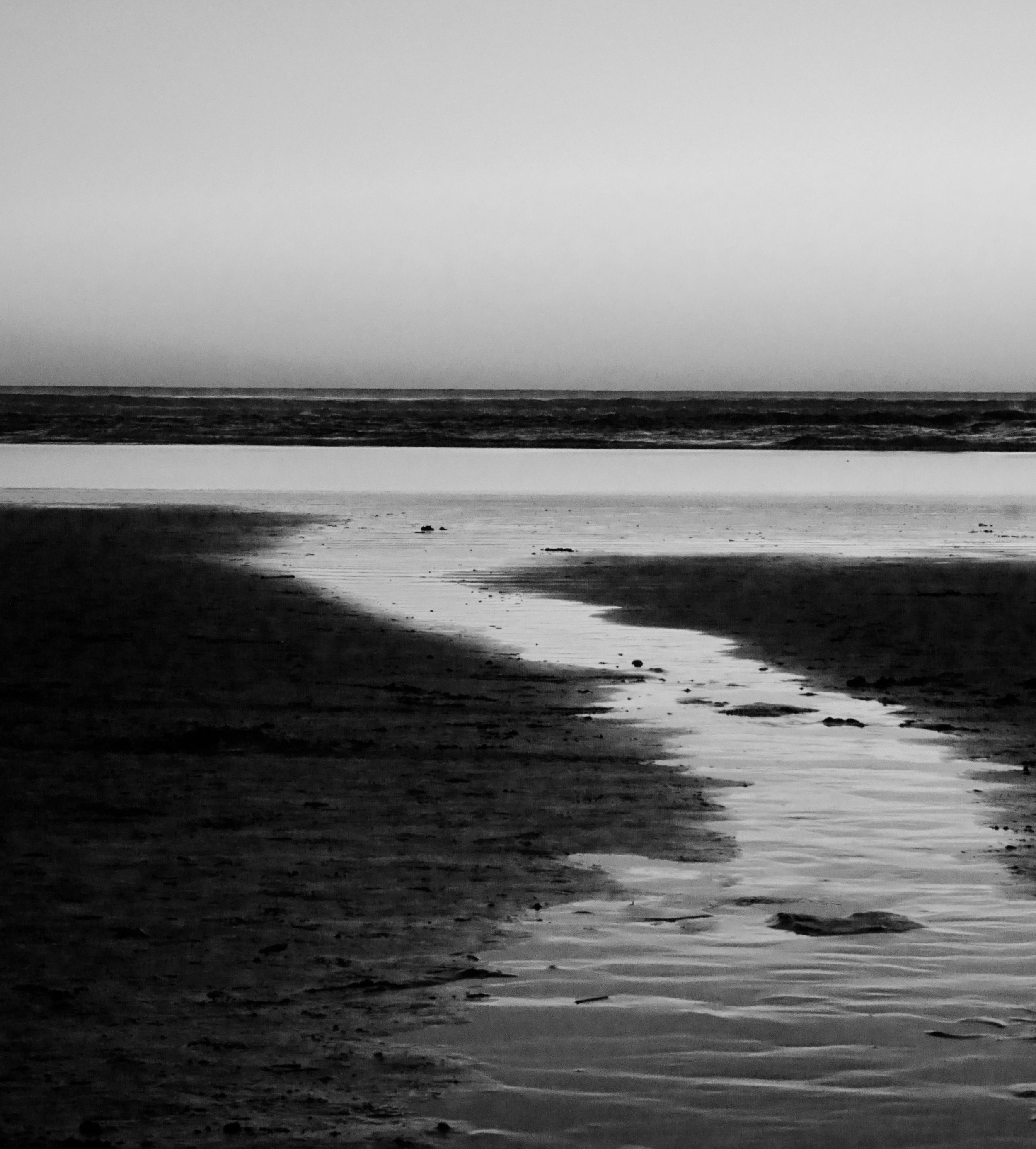 Grief draws me to the ocean, leading me home. North Oregon Coast. Photo by anne richardson