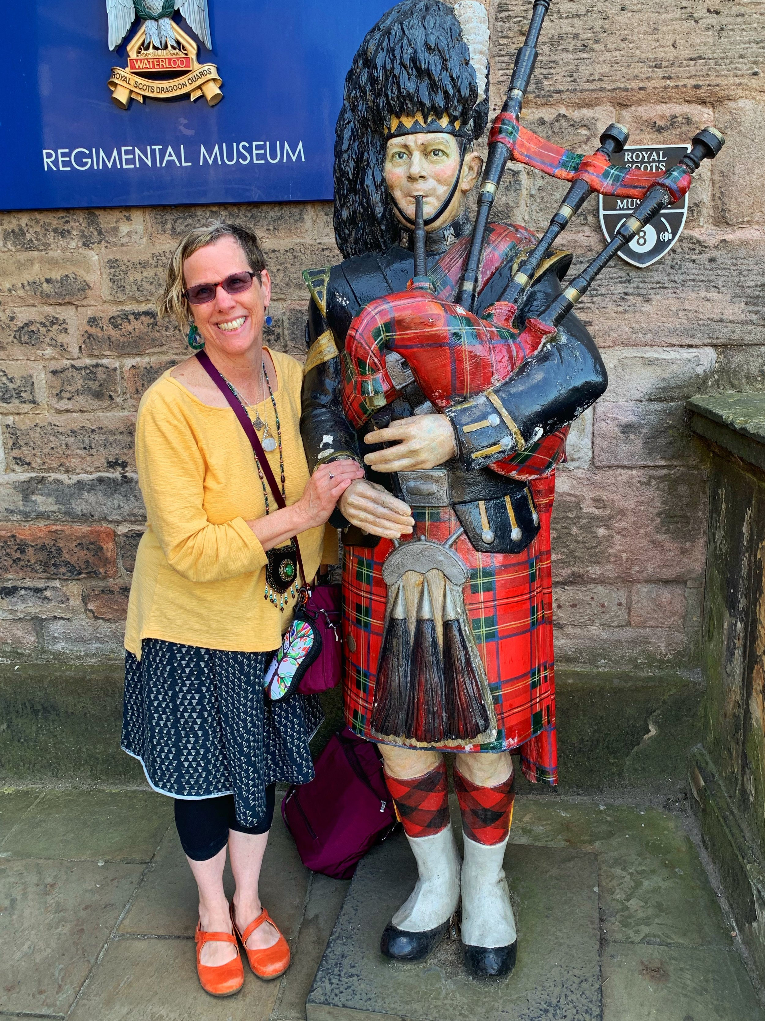 Me with a Royal Scots Dragoon