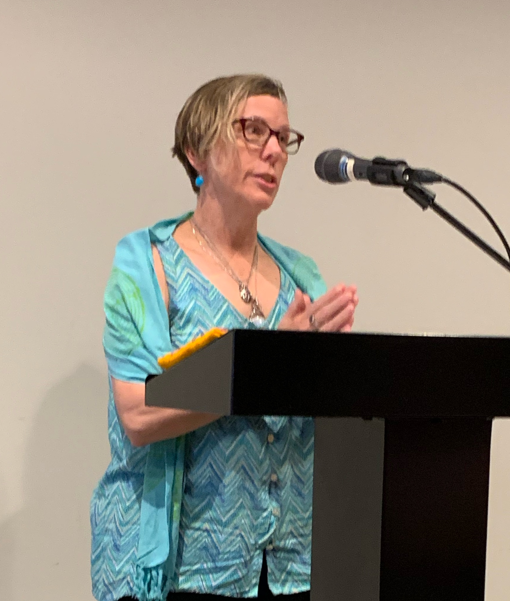 Reading at  Grief Rites monthly readers series , August 2019.