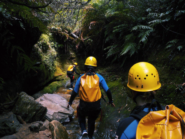 Canyoning - Challenge yourself as you abseil 30m into the impressive Empress Canyon in the Blue Mountains. Explore some off the beaten track sections of the Valley of the Waters.