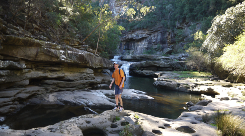 Rockhopping - Explore narrow Glenbrook Gorge, skipping over rocks and boulders. Relax and enjoy the beautiful scenery, and have a refreshing dip in the waterhole.