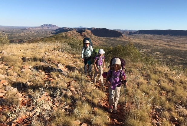 Tips for Family Trekking - Download our free article about motivating kids for multi-day hikes