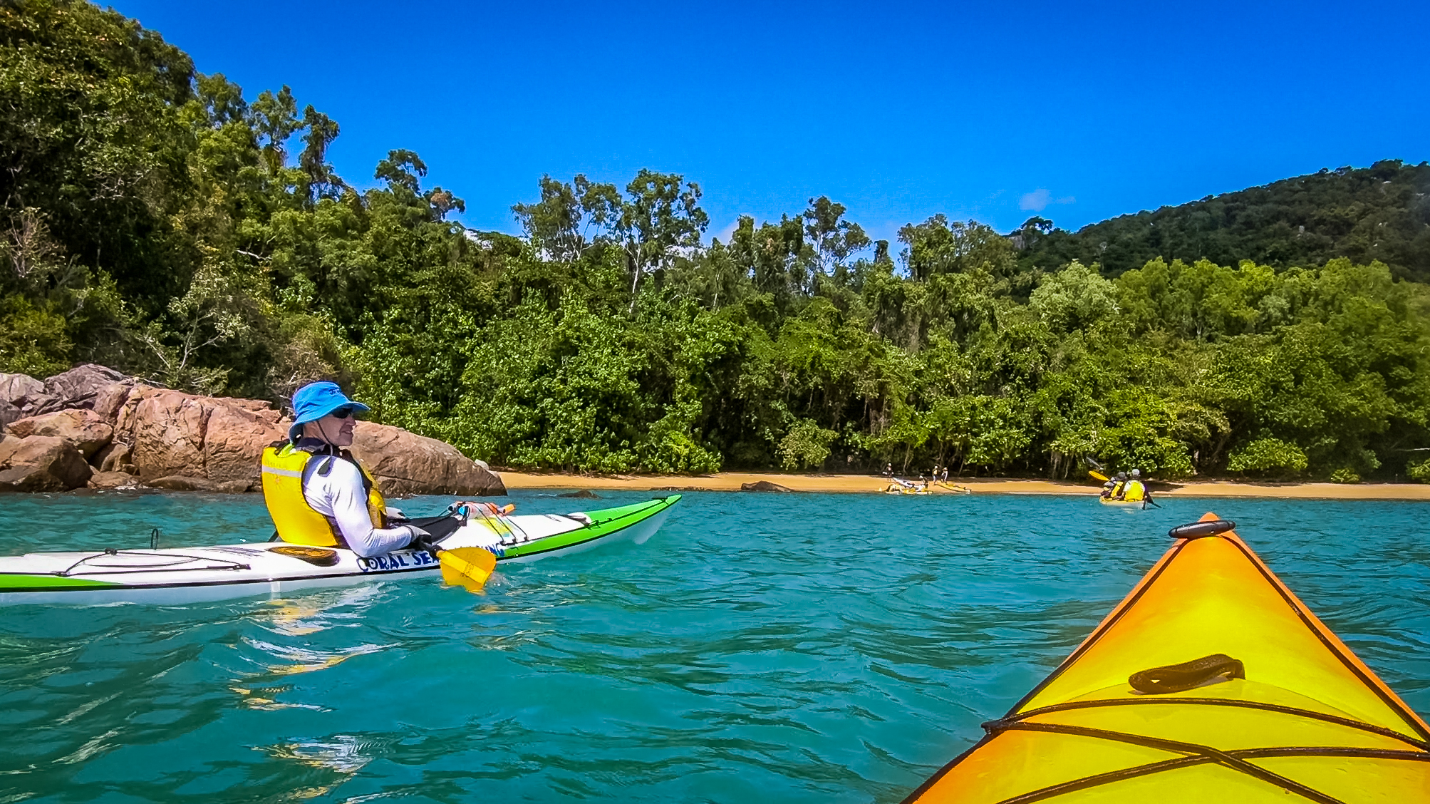 Tropical north Sea Kayak Adventure - Join us for a 4 day paddling adventure in the warm tropical waters of North Queensland.See Details