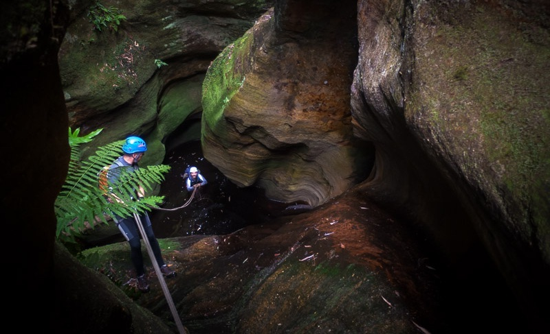 Wolgan Valley Canyoning Adventure - Come and join us for a 3 day mini-adventure in the Wolgan Valley near the NSW Blue Mountains.See Details