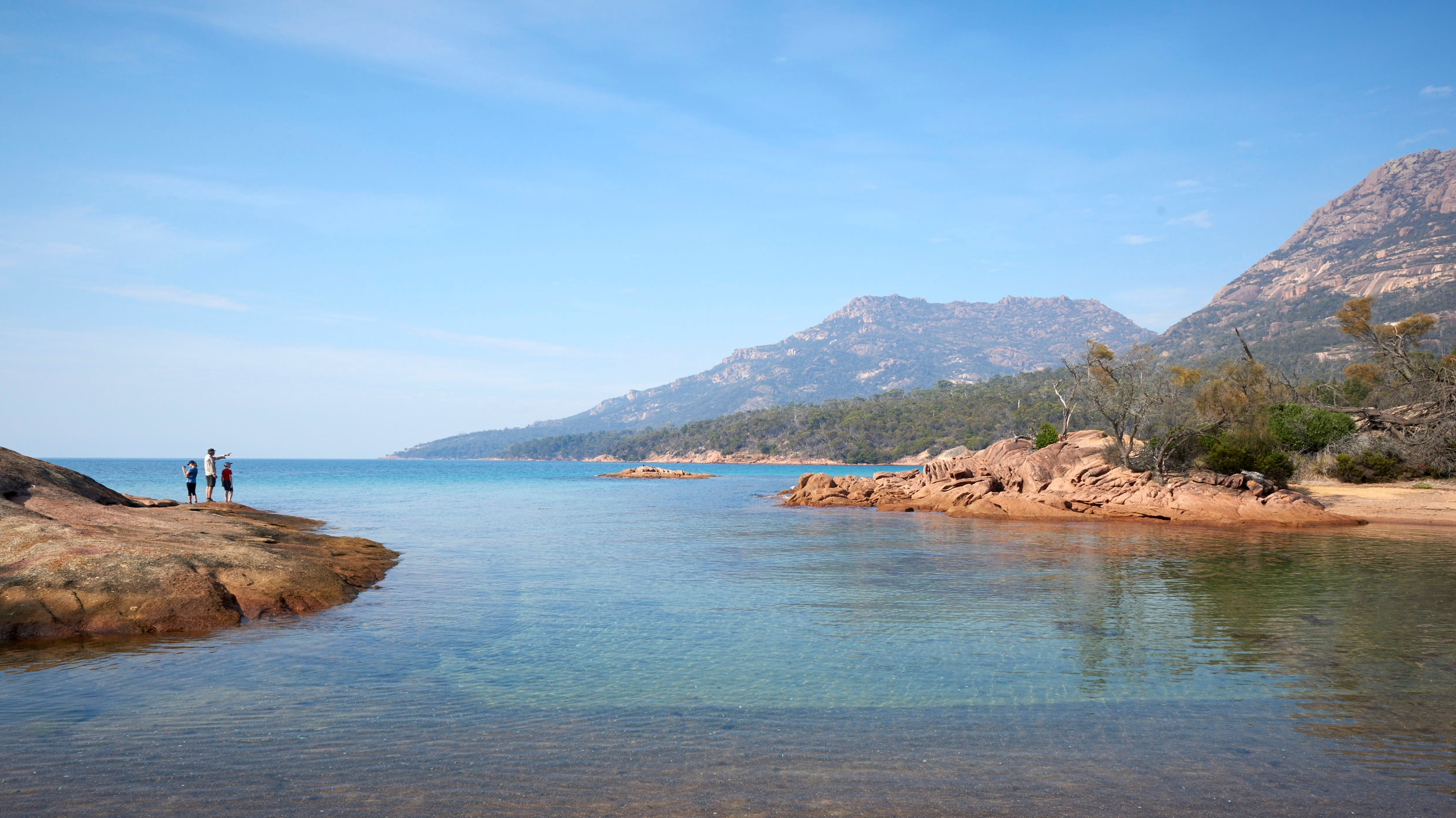 Freycinet Family Land & Sea Adventure - Hike and Paddle your way across and around Tasmania's incredible Freycinet Peninsula with your family over 4 days.See Details