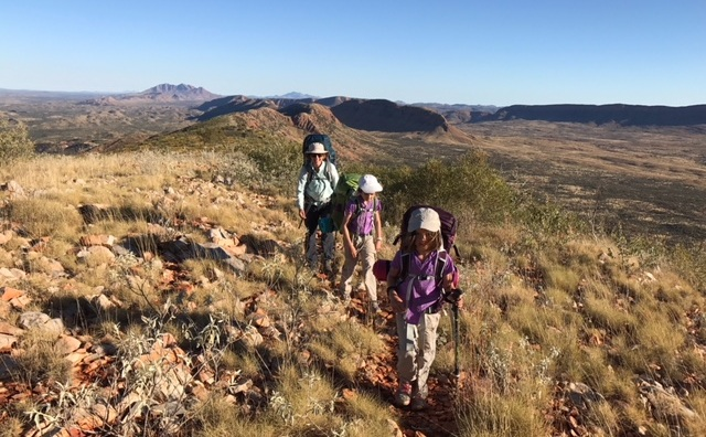 Get the Family Trekking - Download our free article about motivating kids for multi-day hikes