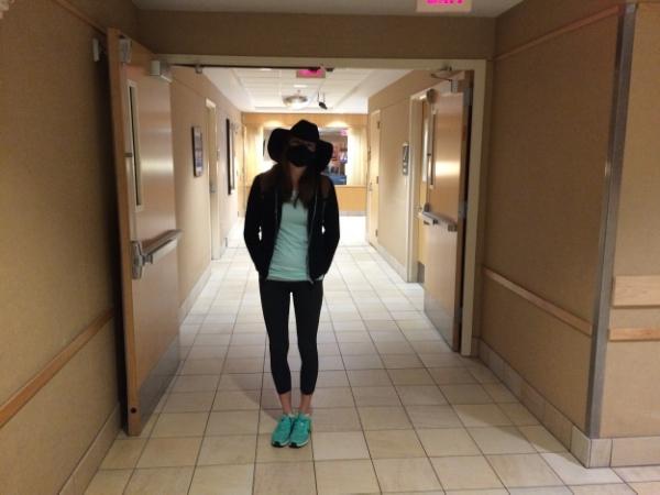 Hallway ninja