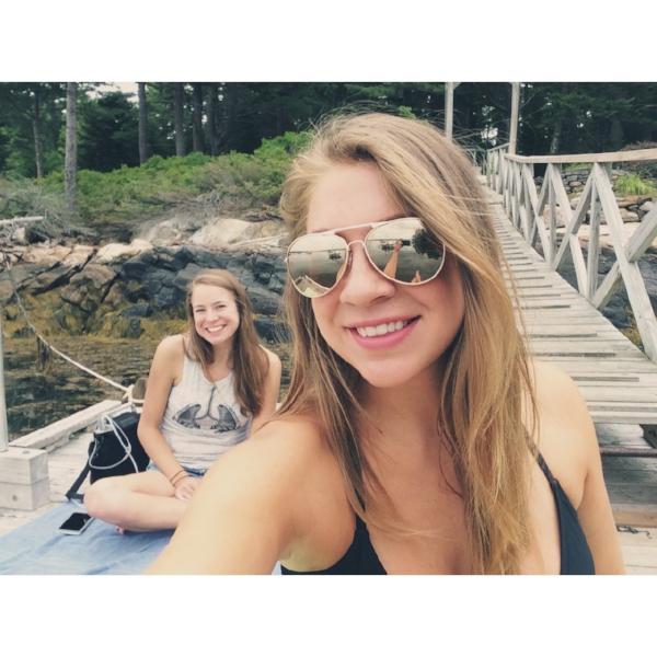 Dock sister selfie!!!