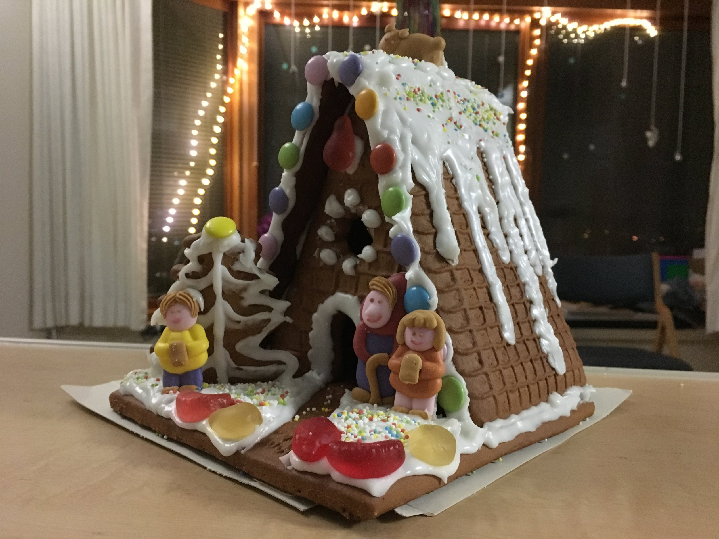 Gingerbread house we made the other week