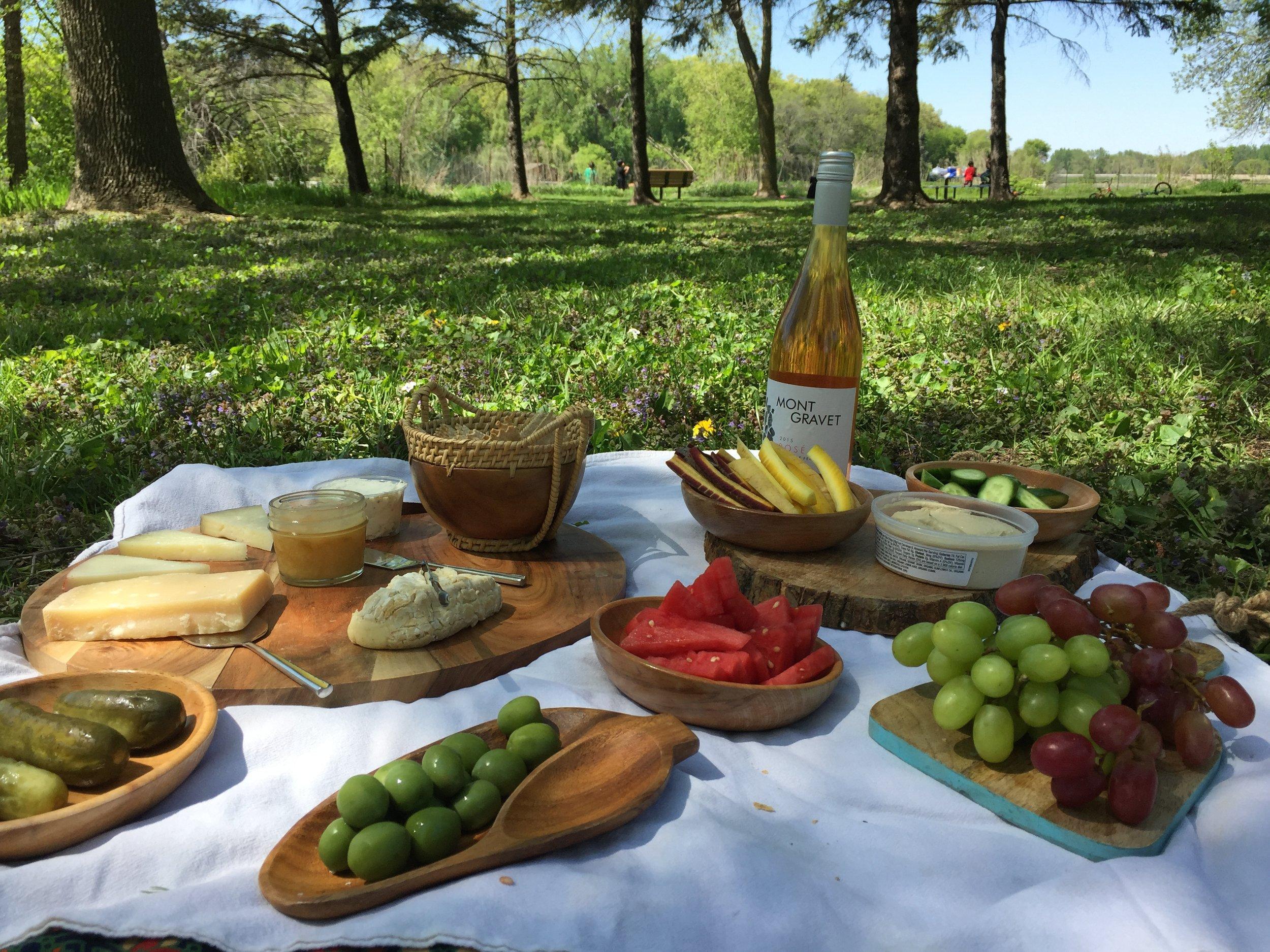 picnic spread time