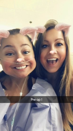 duhhh snapchat was happening in the pre-op room