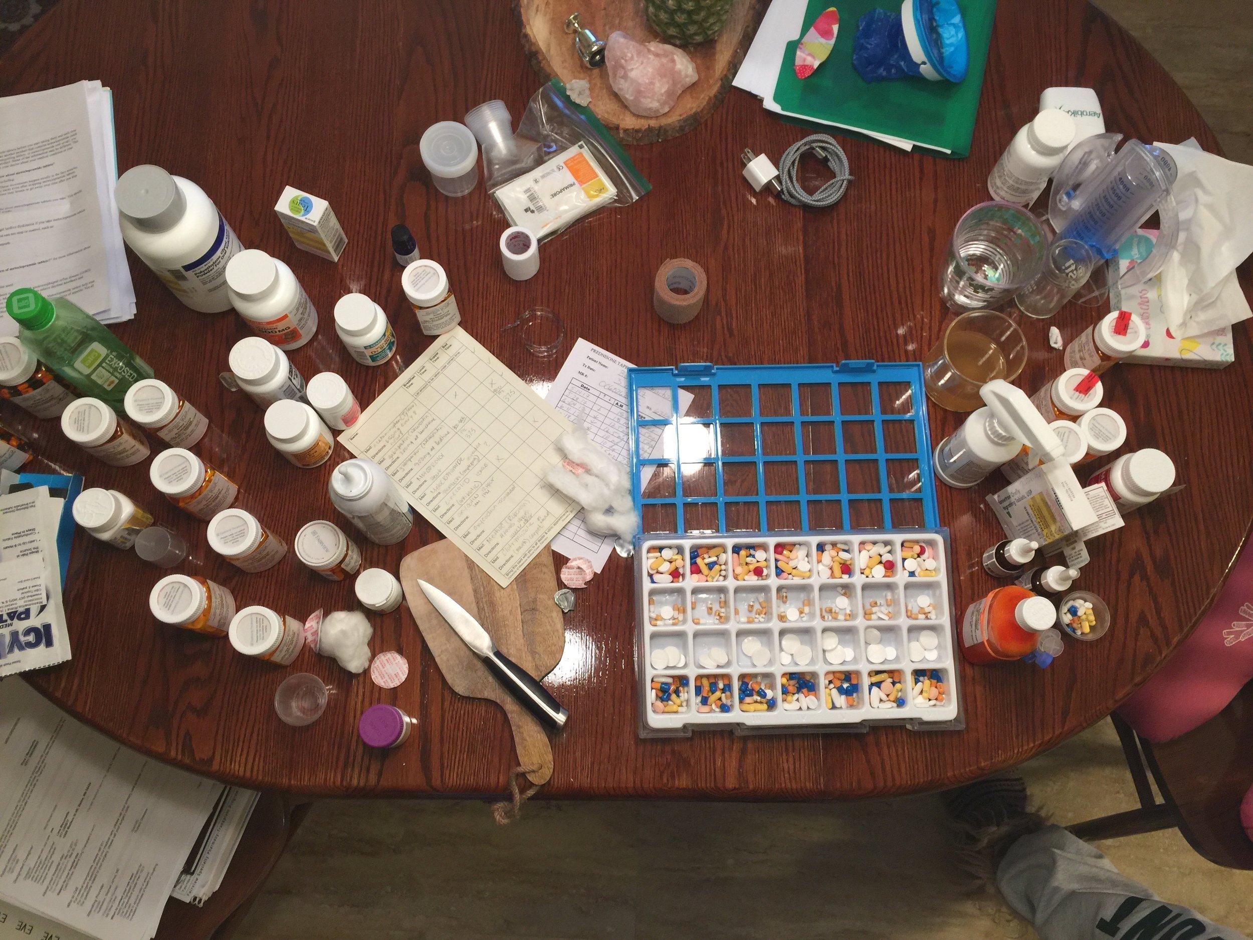 pills all the pills