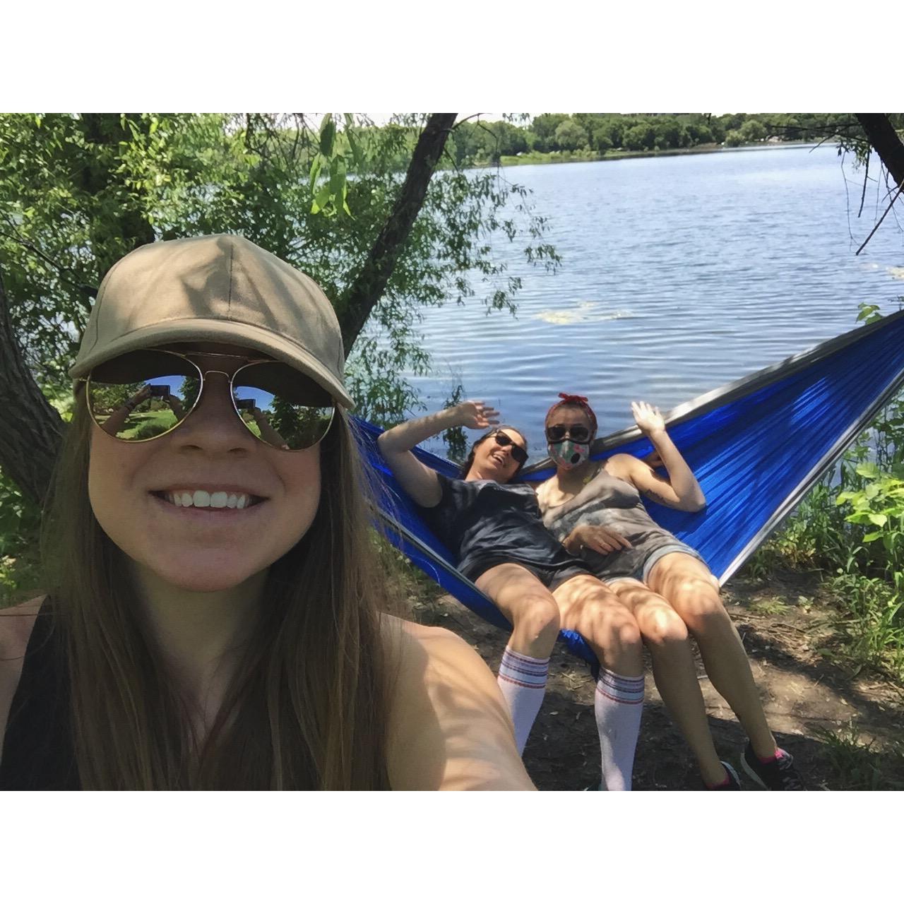 cheesy hammock
