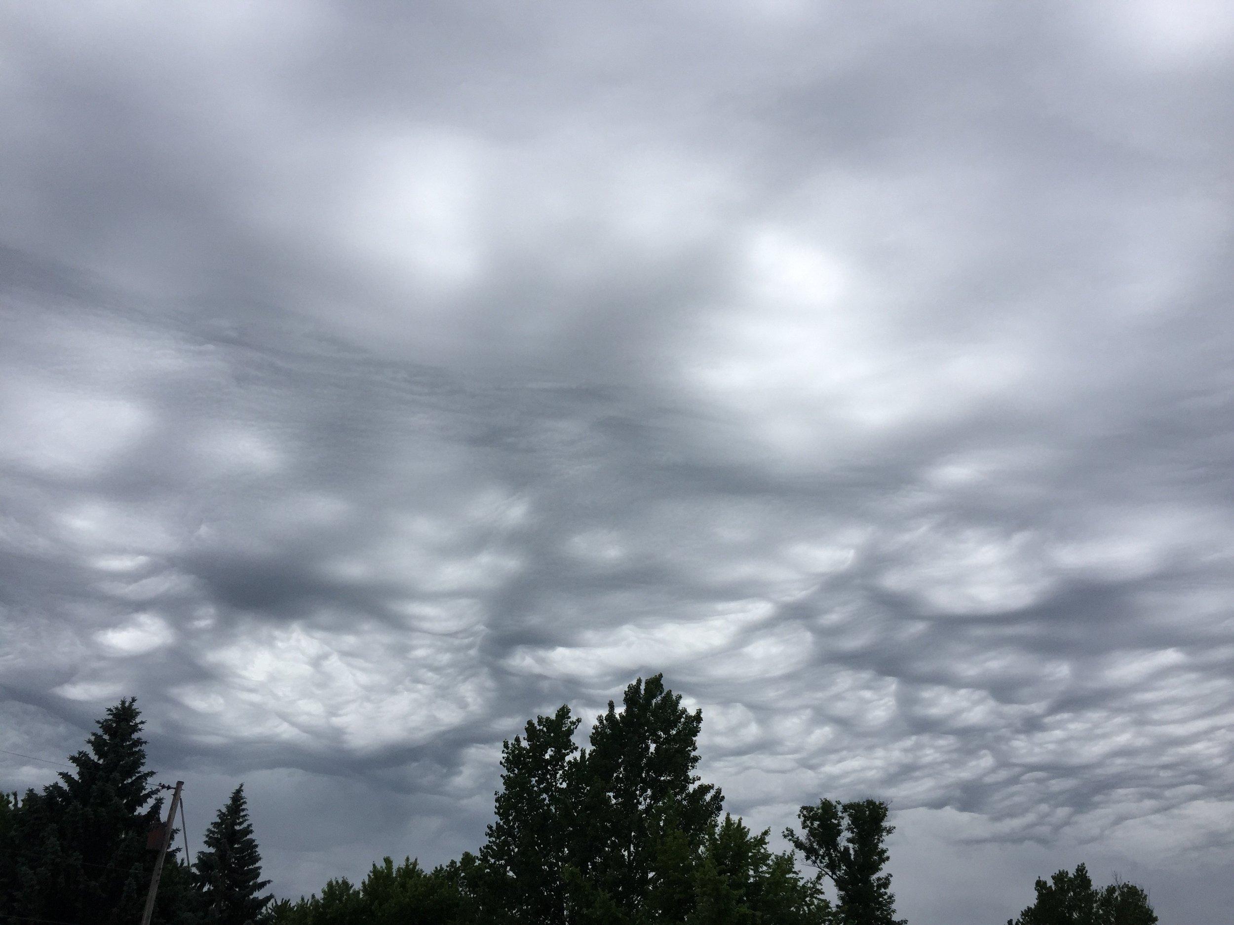super cool clouds