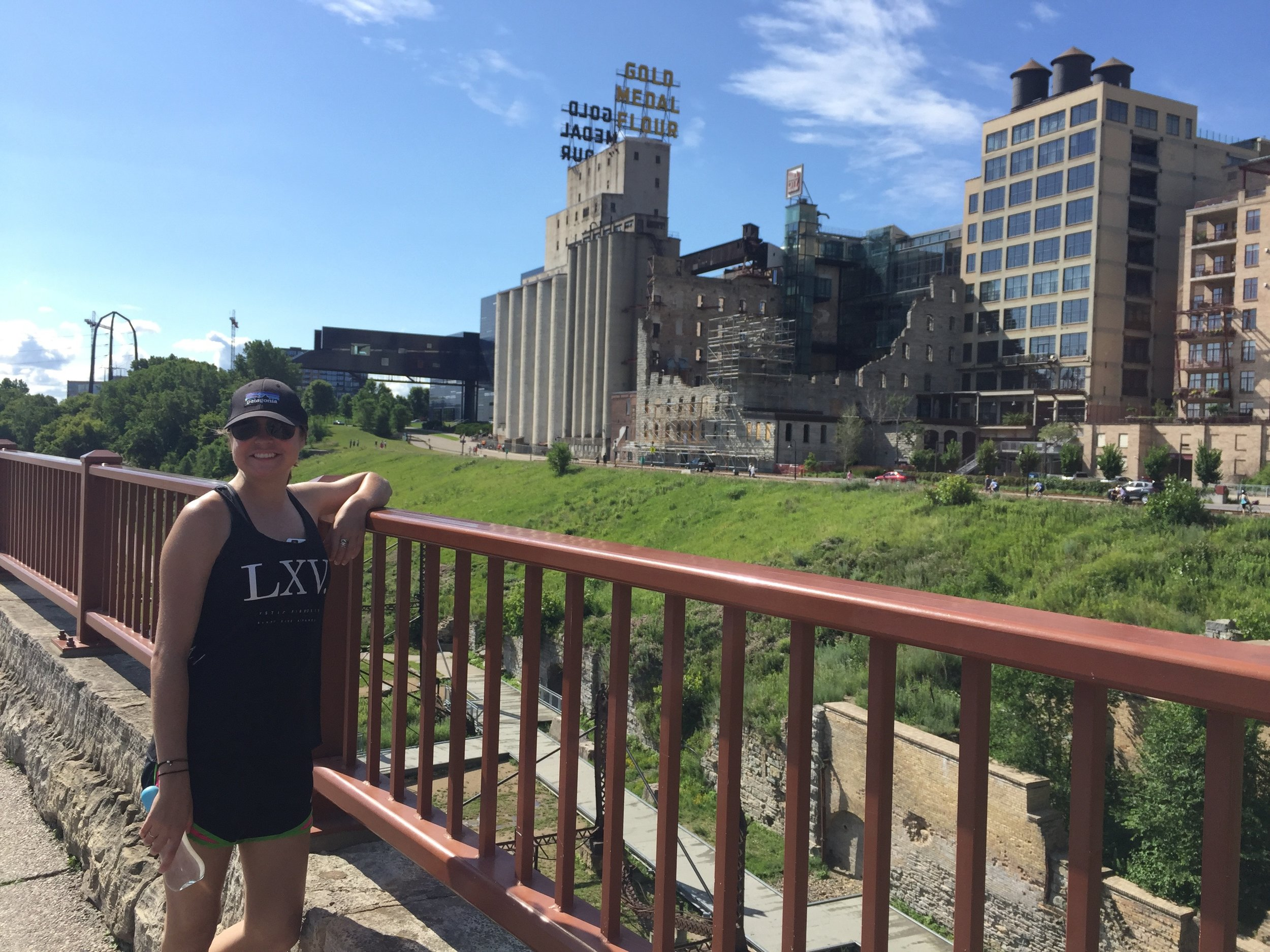 walking the stone arch bridge