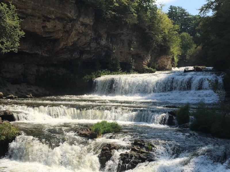 Willow River falls