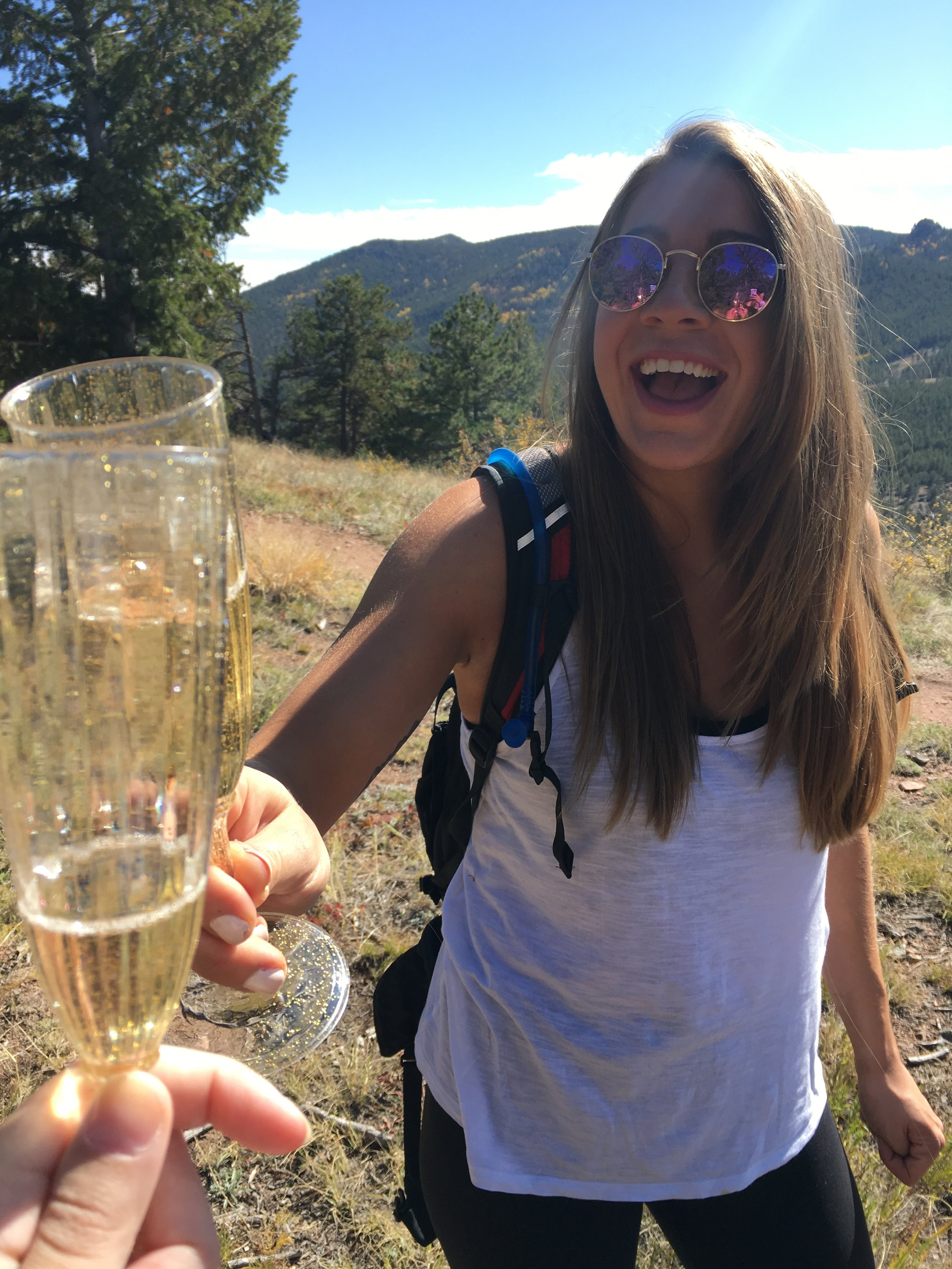 Golden Gate Canyon State Park birthday cheers!