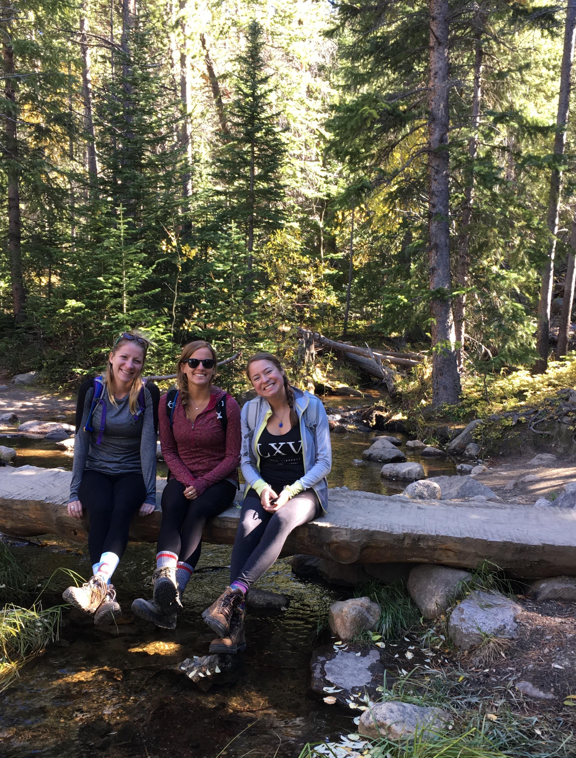 Trail to Alberta Falls