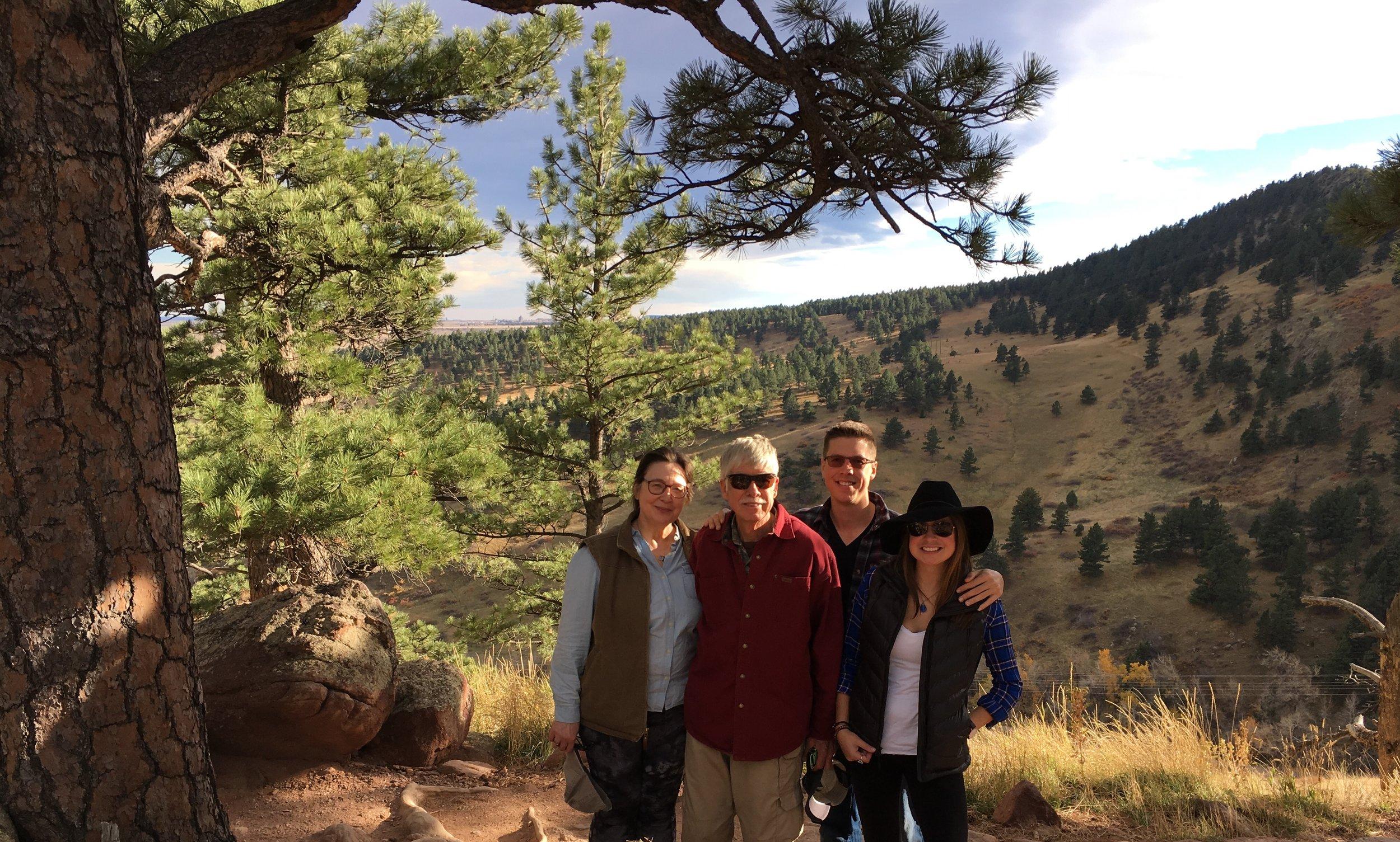 Trail at NCAR in Boulder