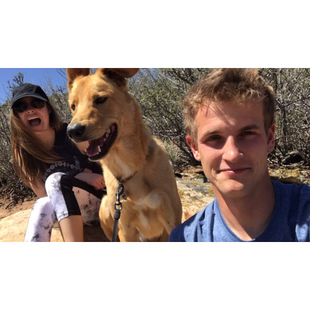 Sunday funday with baby Wilson and @michael_rowe ! And can't forget about earth day🌎♻️! Why yes I did bring a bag to collect trash on our hike. Luckily there was barely any on the trail but there was definitely more where we parked. Some people just don't know how to respect the outdoors and just throw their trash wherever they please, especially stupid cigarette butts 🙄. I just wish more people were earth friendly and didn't liter and that people would recycle more! ♻️🌎 . . . #lungstoryshort #cysticfibrosis #cfawareness #cff #cfwarrior #65roses #doublelungtransplant #posttransplant #sundayfunday #hikeitout #optoutside #earthday #motherearth #awakeafearthchallenge #trashpickup #babywilson
