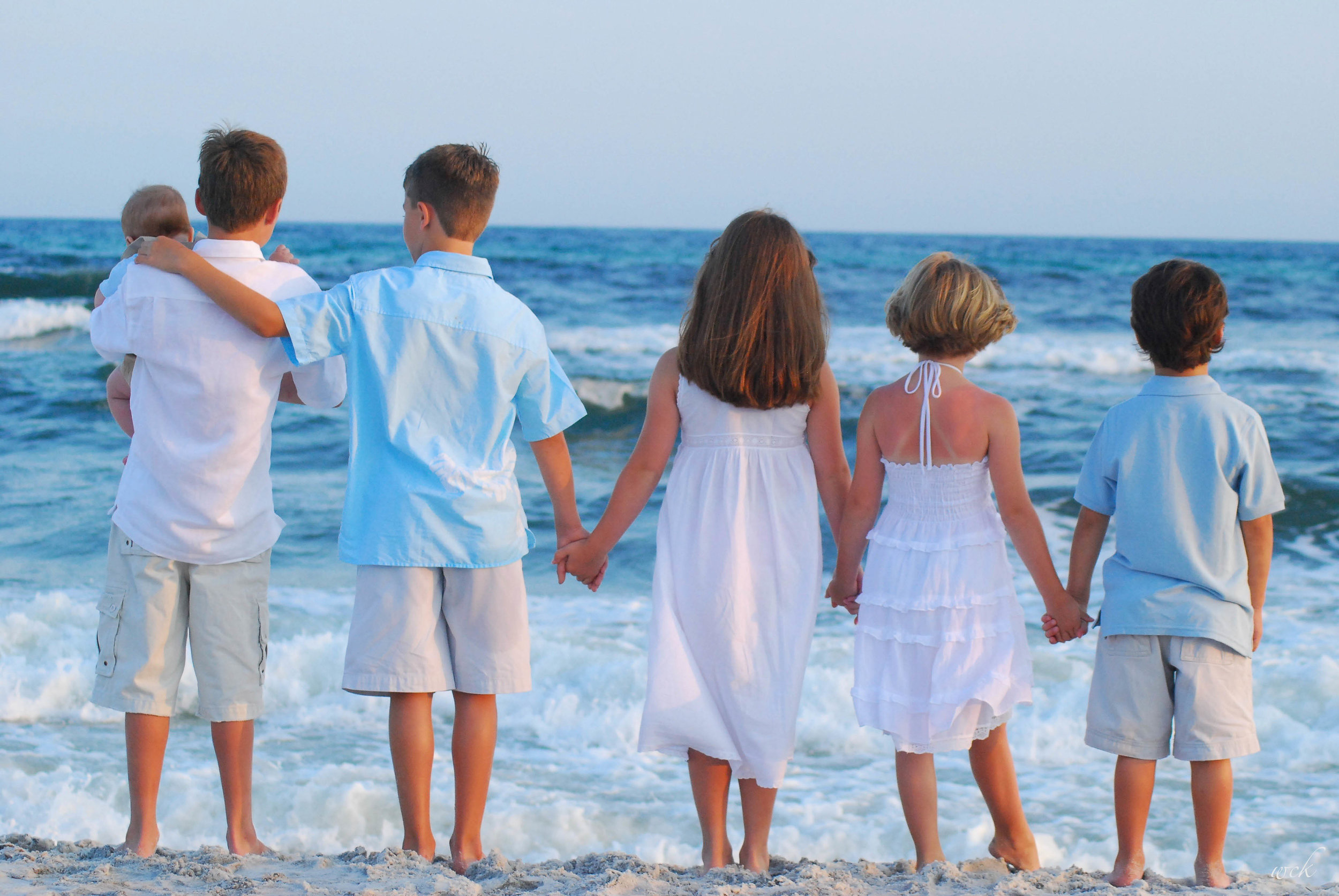 Cousins in Seaside 2007
