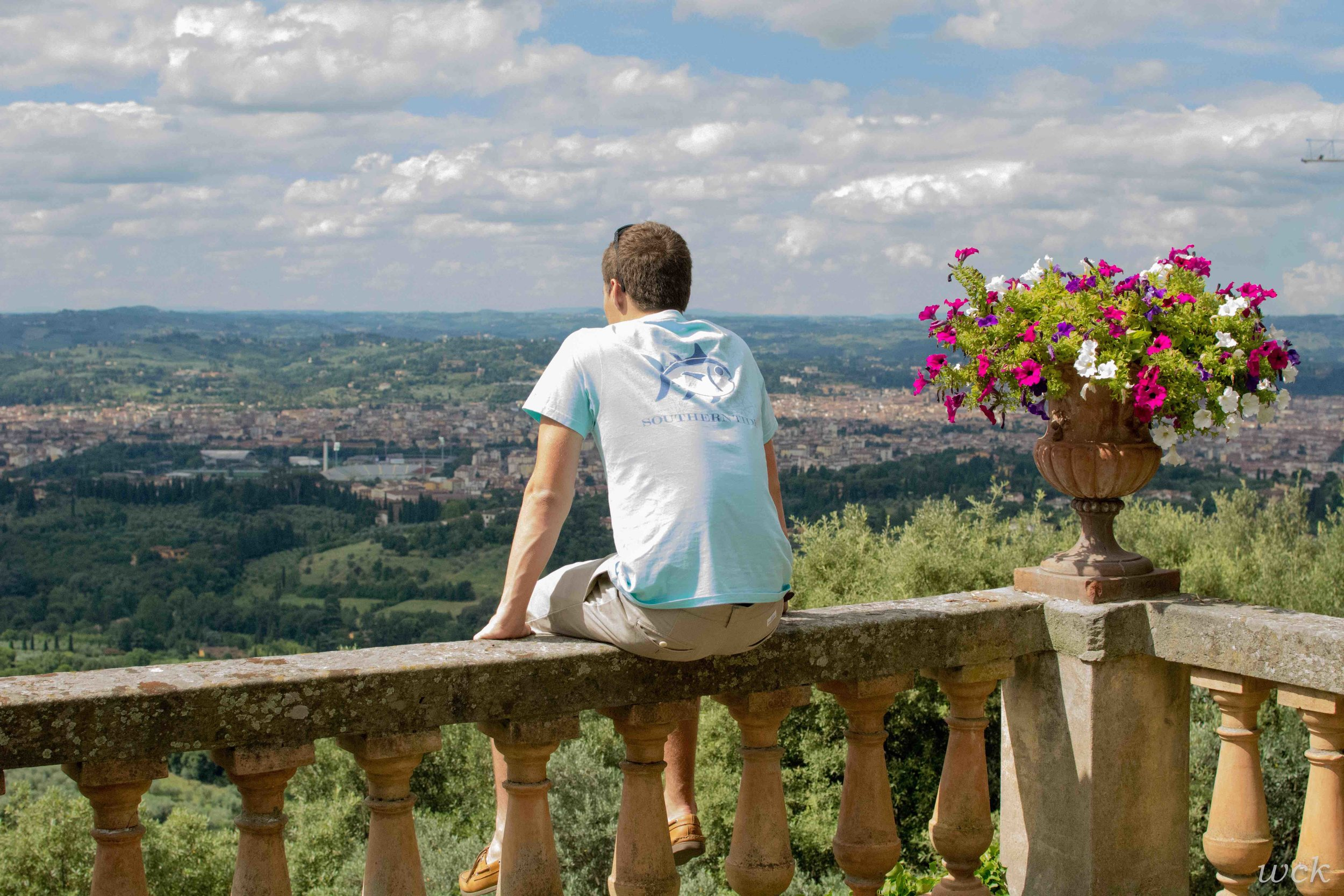 Overlooking Florence!