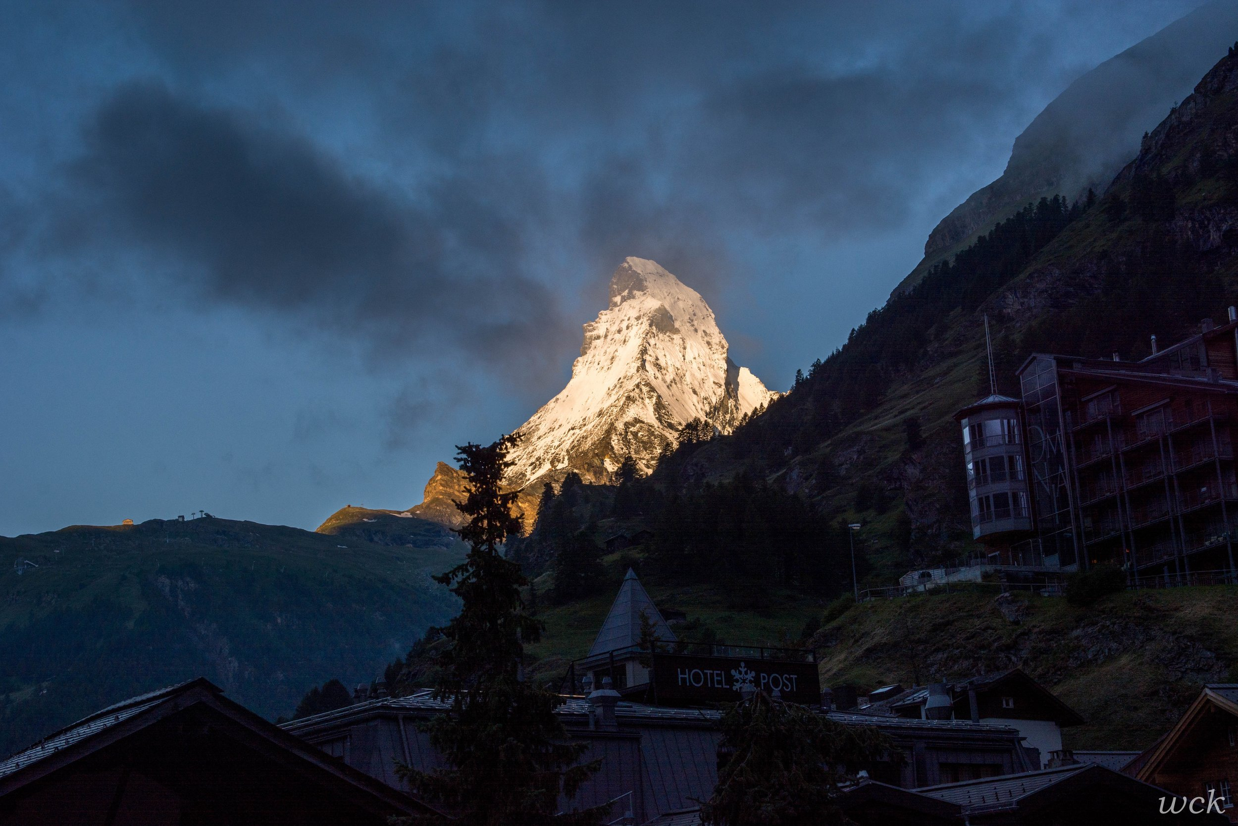 A dream come true to see this!  The Matterhorn!