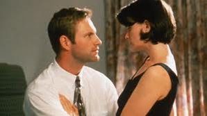 Aaron Eckhart & Stacy Edwards in IN THE COMPANY OF MEN